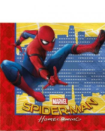 Spider-Man Homecoming Paper Party Napkins