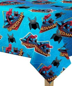 Spider-Man Homecoming Party Plastic Tablecover