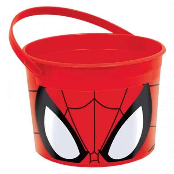 Spider-Man Favour Bucket