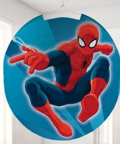 Spider-Man Party Round Paper Lantern