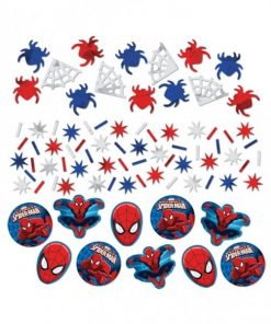 Spider-Man Party Table Confetti