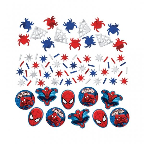 Spider-Man Party Table Confetti