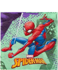 Spiderman Team Up Lunch Napkins