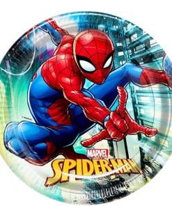 Spiderman Team Up Party Plates