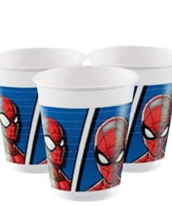 Spiderman Team Up Plastic Cups