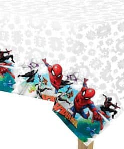 Spiderman Team Up Plastic Tablecover