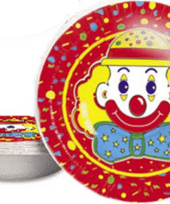 Circus Clown Party Paper Jelly Bowls