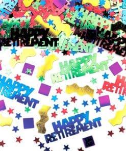Happy Retirement Table Confetti
