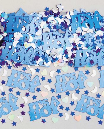 It's a Boy Table Confetti