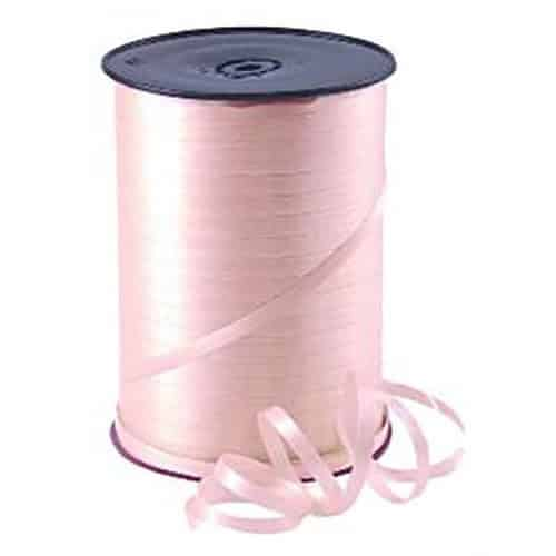 Pink Curling Balloon 5mm Ribbon