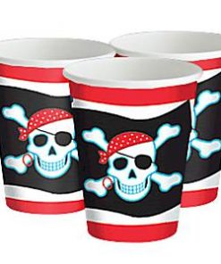 Pirate Skull Party Paper Cups