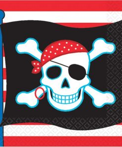 Pirate Skull Party Paper Napkins