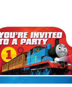 Thomas the Tank Engine Party Invitations
