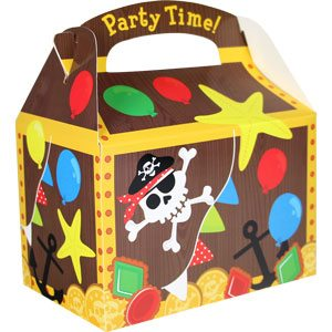 Treasure Chest Party Food Box