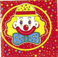 Circus Clown Party Lunch