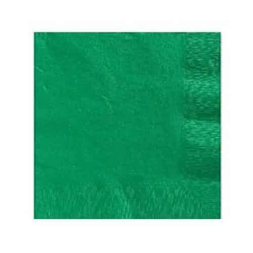 Green Beverage Napkins