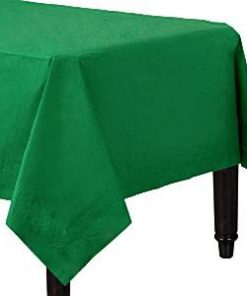 Green Paper Tablecover