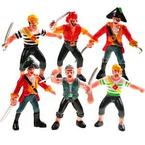 Pirate Plastic Figure