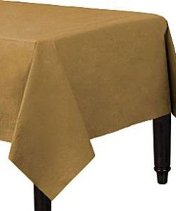 Gold Paper Tablecover
