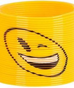 Yellow Smiley Face Mini Slinky