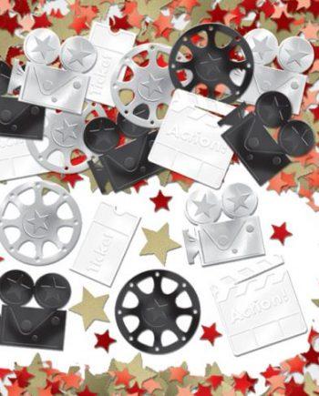 Hollywood Movie Table Confetti