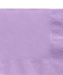 Lilac Luncheon Paper Napkins