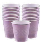 Lilac Plastic Party Cups