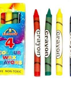 Colour Wax Crayons