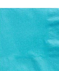 Turquoise Party Paper Lunch Napkins