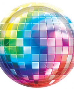 70s Disco Fever Party Paper Plates