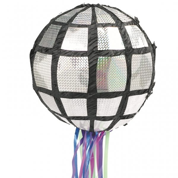 Disco Ball Pull Piñata