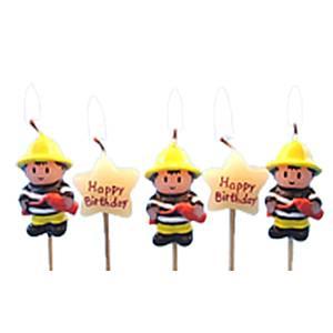 Fireman-Candles