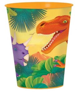 Prehistoric Dinosaur Party Plastic Gift Cup