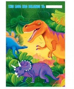 Prehistoric Dinosaur Party Plastic Loot Bags