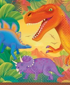 Prehistoric Dinosaur Party Napkins