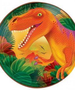 Prehistoric Dinosaur Party Dessert Paper Plates