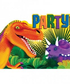 Prehistoric Party Postcard Invite Cards