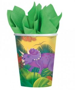 Prehistoric Dinosaur Party Cups
