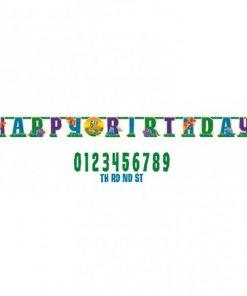 Prehistoric Dinosaur Party Add An Age Letter Banner