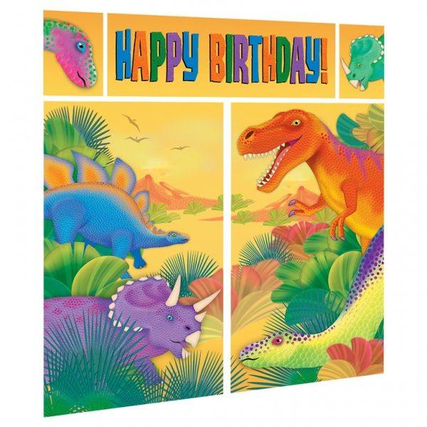 Prehistoric Dinosaur Party Scene Setter