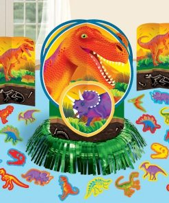 Prehistoric Dinosaur Party Table Decorating Kit