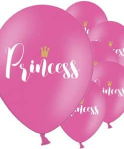 Hot Pink Princess Balloons