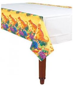 Prehistoric Dinosaur Party Paper Tablecover