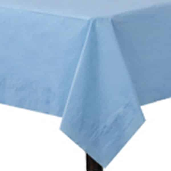 Baby Blue Paper Tablecover