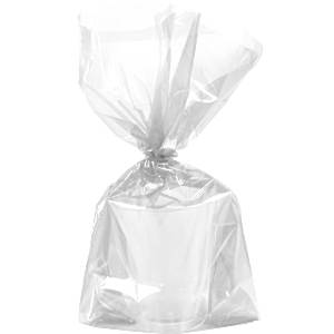 Clear Large Cellophane Party Bags