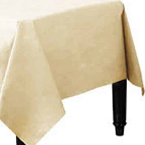 Ivory Paper Party Tablecover