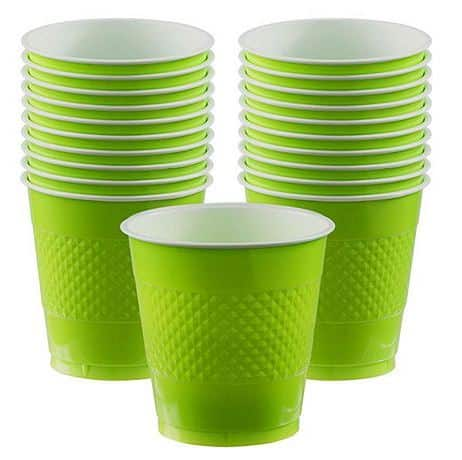Lime Green Plastic Cup