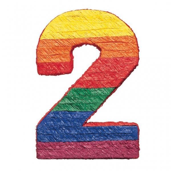 Number 2 Piñata