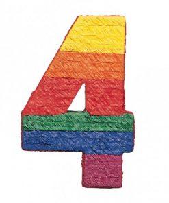 Number 4 Piñata