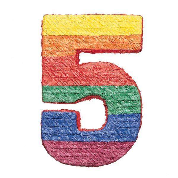 Number 5 Piñata